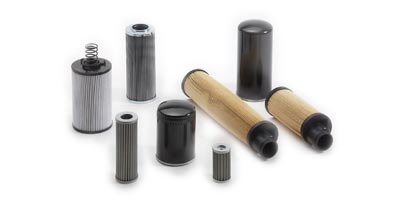 Oil filters for compressors